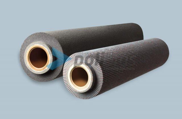 Rolos de Malha Abrasiva para Circuitos Impressos, com possibilidade de impregnação. As melhores soluções de acabamento na Polibras.