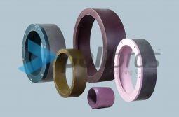 Mós abrasivas para desbaste e acabamento, especial para cutelarias, com diversos materiais e medidas, de acordo com a necessidade do cliente.